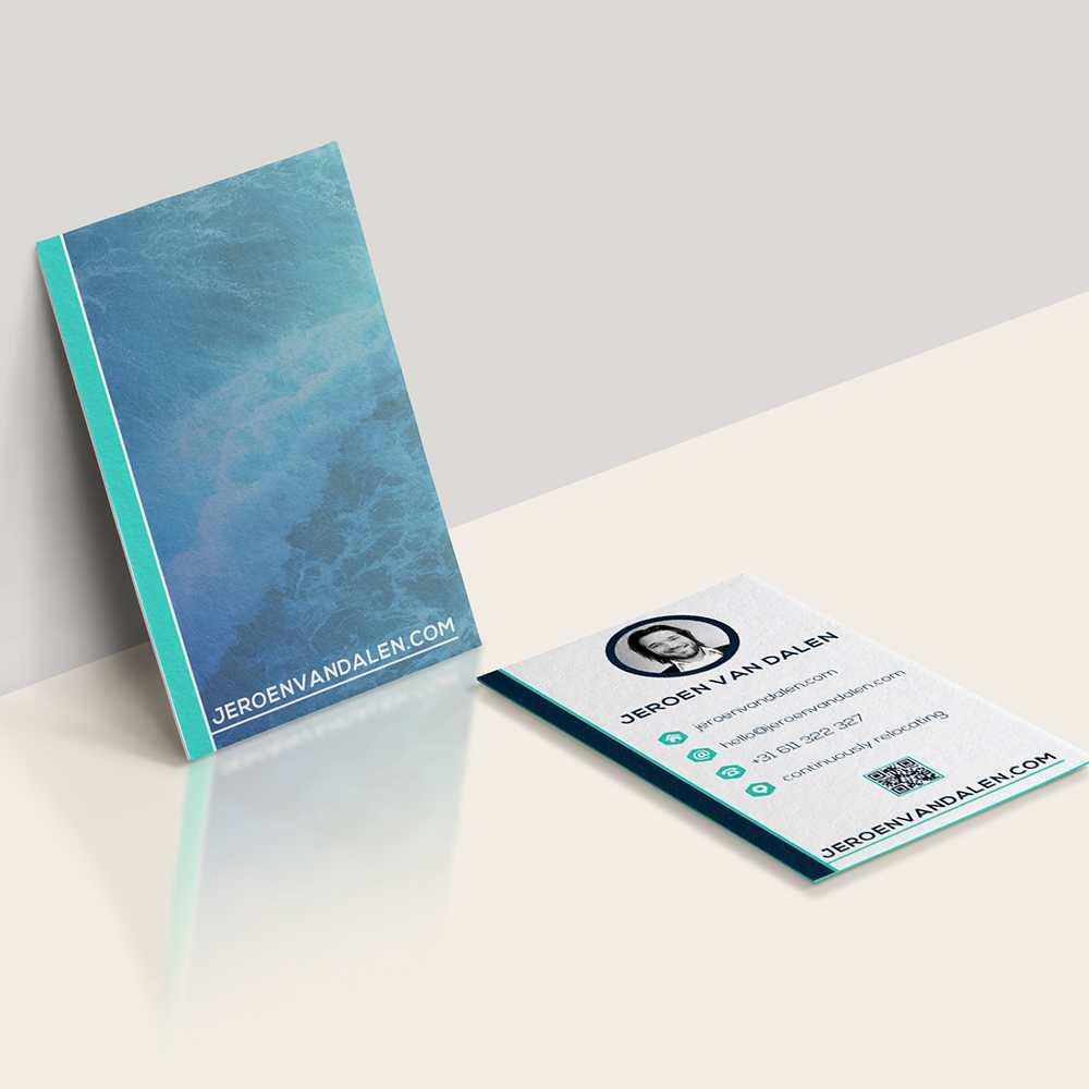 Azura_Design_Portfolio_jeroen_business_card_print_design | Azura Design - Digital Creative Studio London