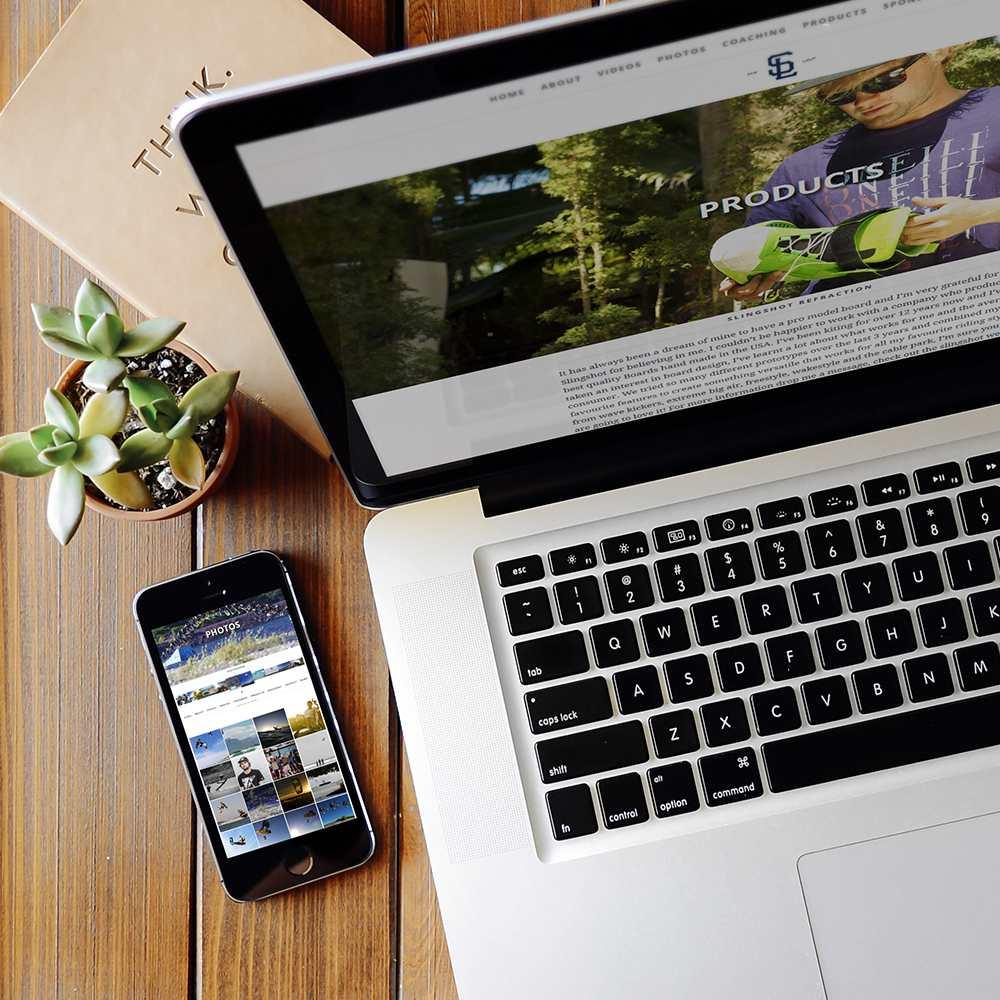 Azura_Design_Portfolio_sam_light_website_design_web_device_responsive | Azura Design - Digital Creative Studio London